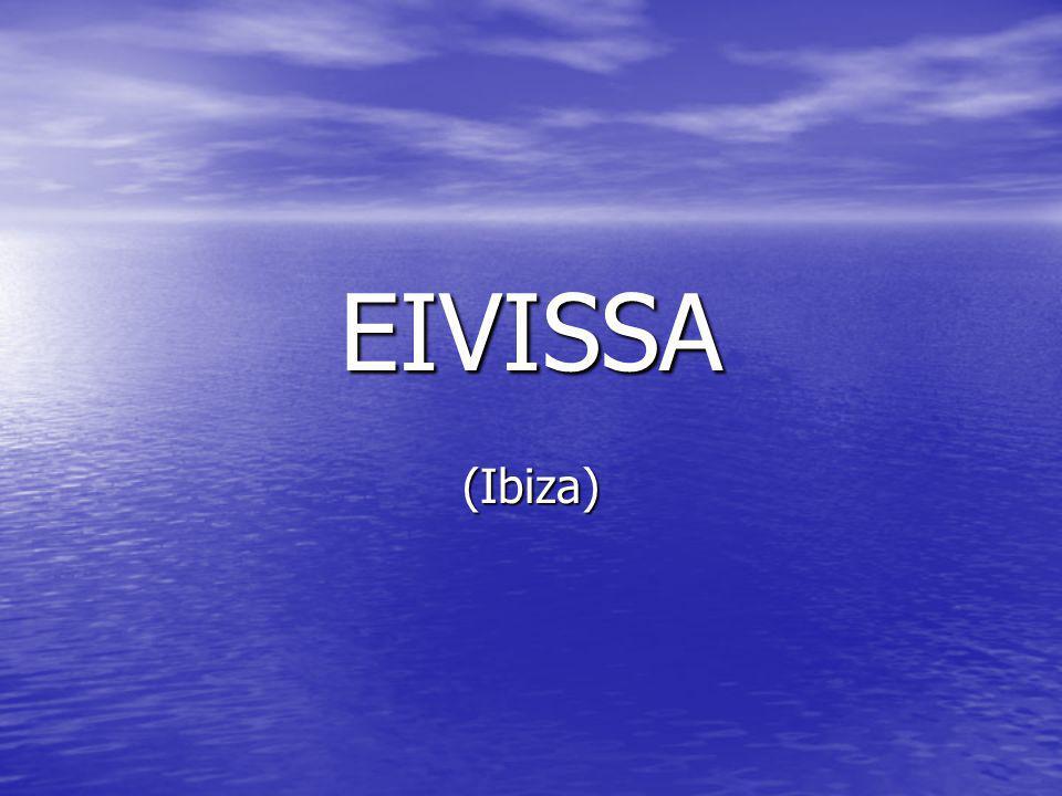 La isla de Ibiza se encuentra en el archipiélago de las Baleares