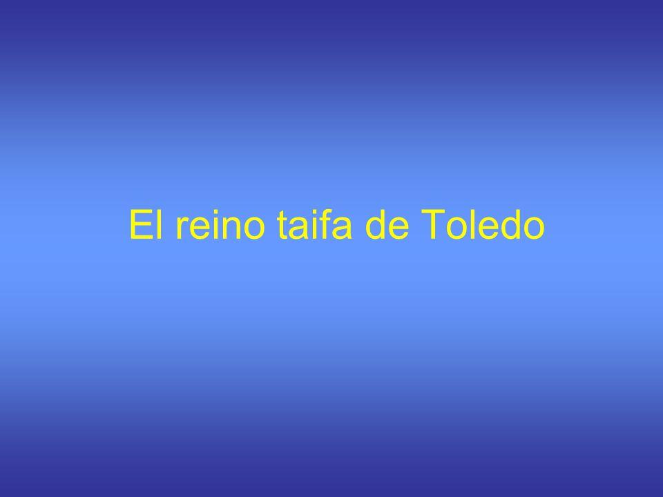 Los orígenes del reino taifa de Toledo Toledo fue bajo el califato la capital de un territorio expuesto a los ataques cristianos y además, a menudo, rebelde contra el poder del califa.