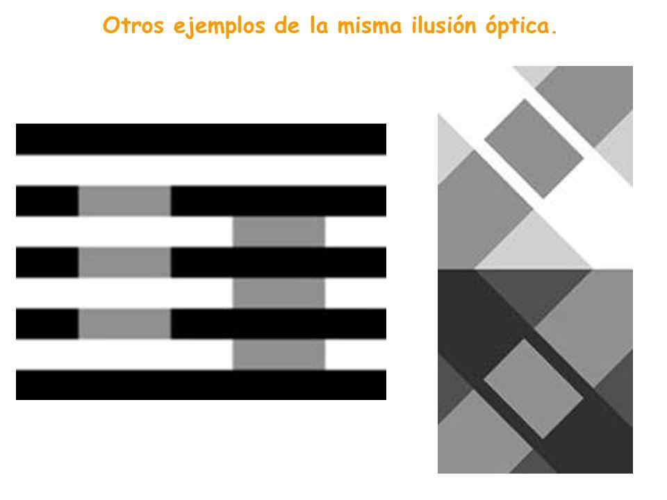 Son iguales. ¿Cuál de los dos cuadrados es más oscuro, A o B? Los cuadrados A y B tienen la misma tonalidad de color. Sin embargo, B, rodeado de otros