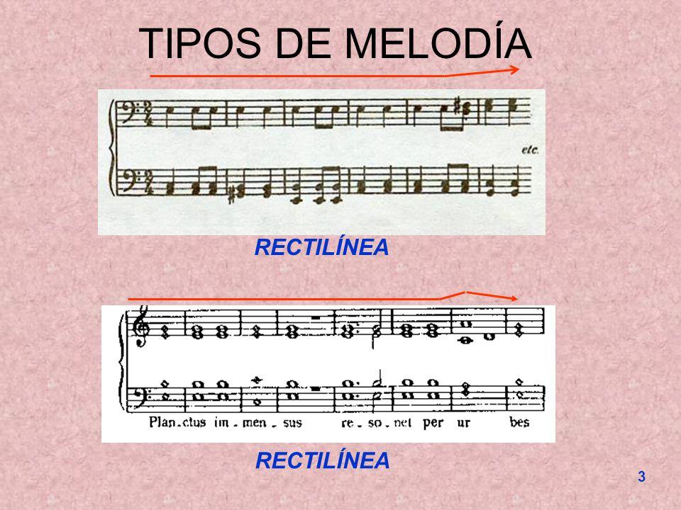3 TIPOS DE MELODÍA RECTILÍNEA