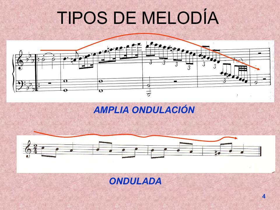 5 TIPOS DE MELODÍA QUEBRADA MUY QUEBRADA