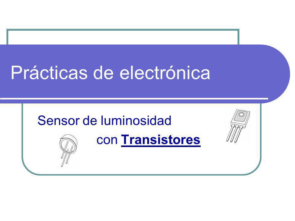 Preparar el material necesario Entrenador Transistor BD135 Resistencia 10Kmarrón, negro, naranja, oro Polímetro Potenciómetro 10K LDR Diodo Relé Detector de oscuridad