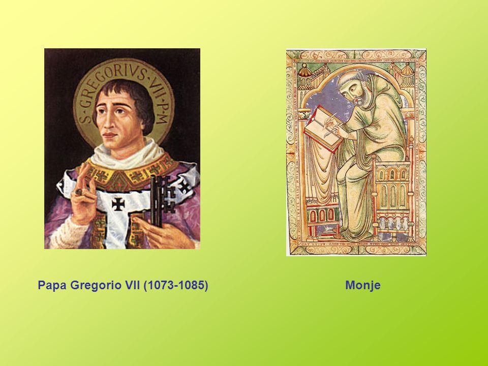 Papa Gregorio VII (1073-1085)Monje