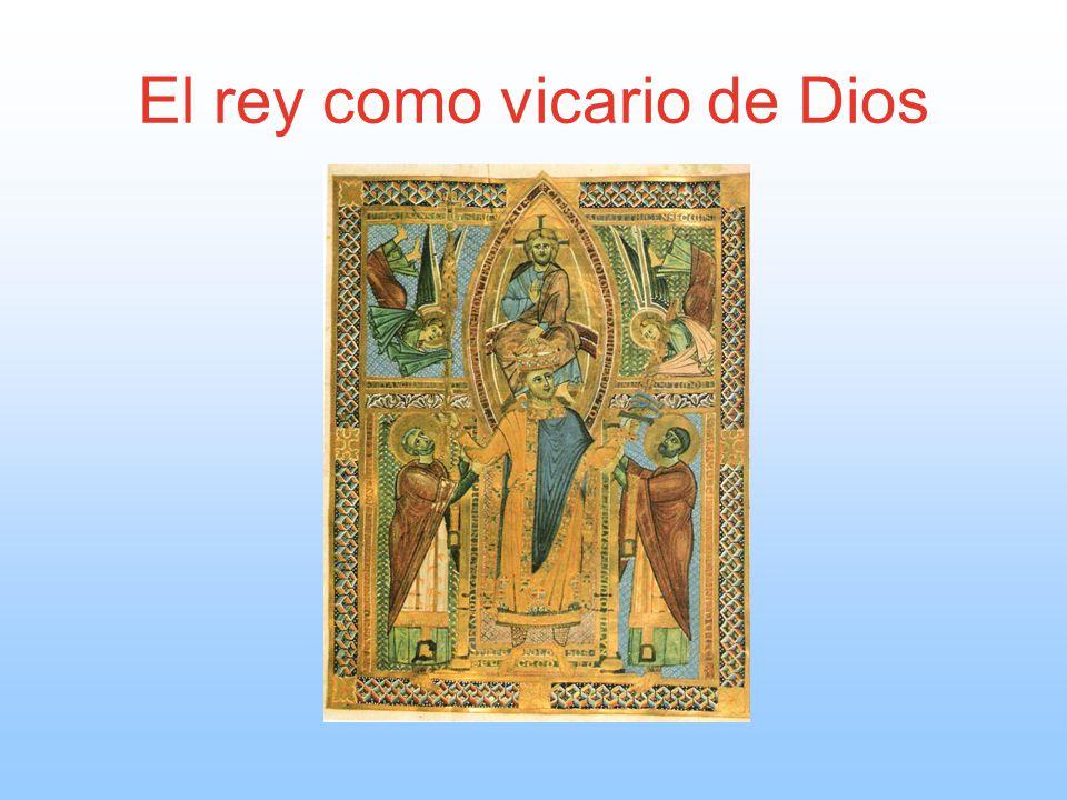 El rey como vicario de Dios