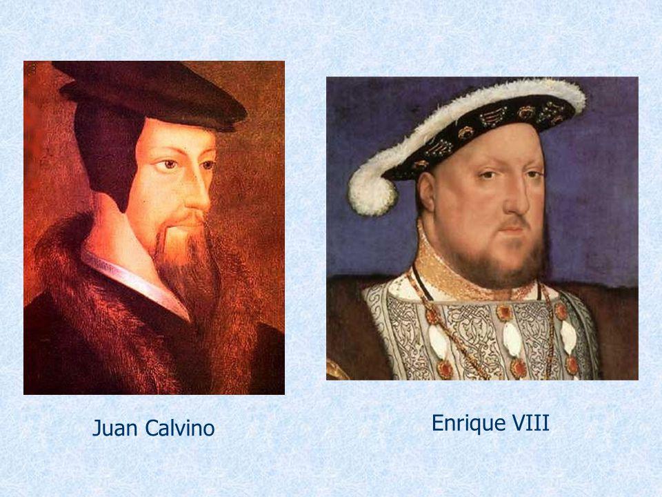 Juan Calvino Enrique VIII