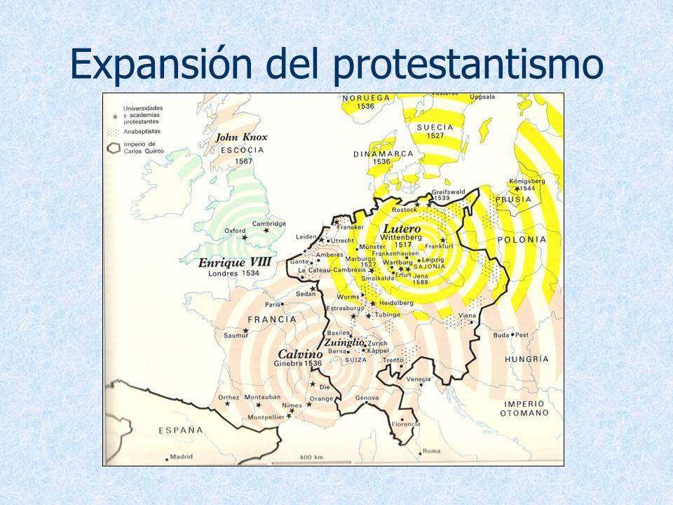 Expansión del protestantismo