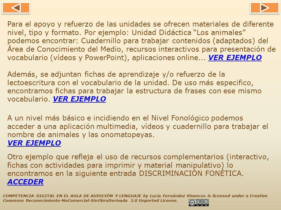 Si tenéis alguna duda o queréis contactar conmigo, estoy en: DIGITAL EN EL AULA DE AUDICIÓN Y LENGUAJE by Lucía Fernández Vivancos is licensed under a Creative COMPETENCIA Commons Reconocimiento-NoComercial-SinObraDerivada 3.0 Unported License.