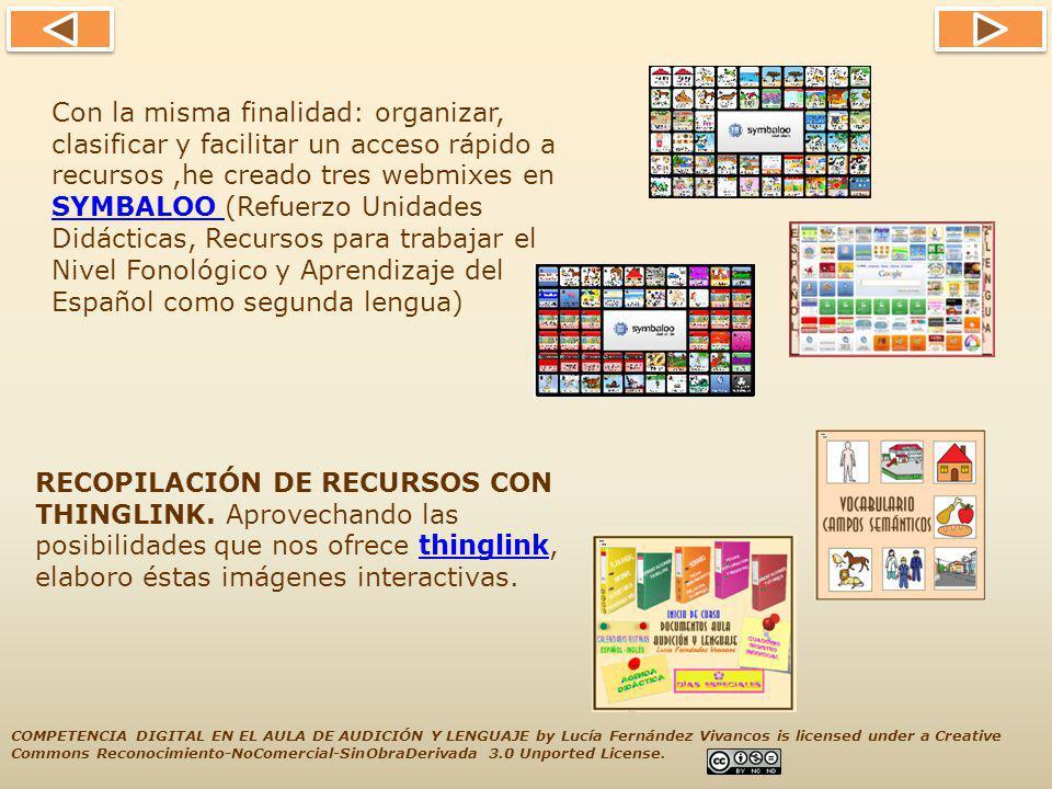 Otra forma de organizar y compartir recursos, que incorporo recientemente al blog, es la presentación de estos en murales digitales creados con LINO IT.