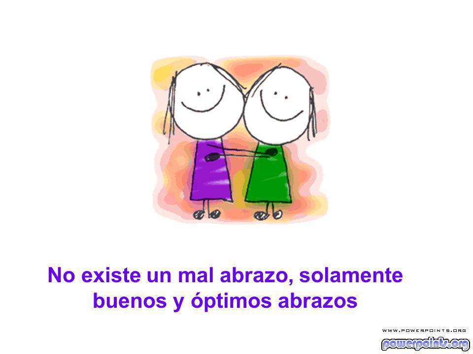 Nunca dejes para mañana si puedes abrazar a alguiem hoy, porque cuando das un abrazo a alguien, en el mismo instante recibes uno de vuelta