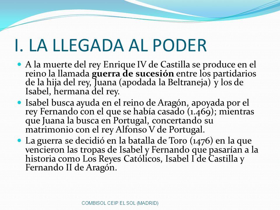 Los Reyes Católicos, Isabel I de Castilla y Fernando II de Aragón, este título les fue concedido por el Papa Alejandro VI por su labor al defender y propagar el catolicismo (conquista de Granada y descubrimiento de América).