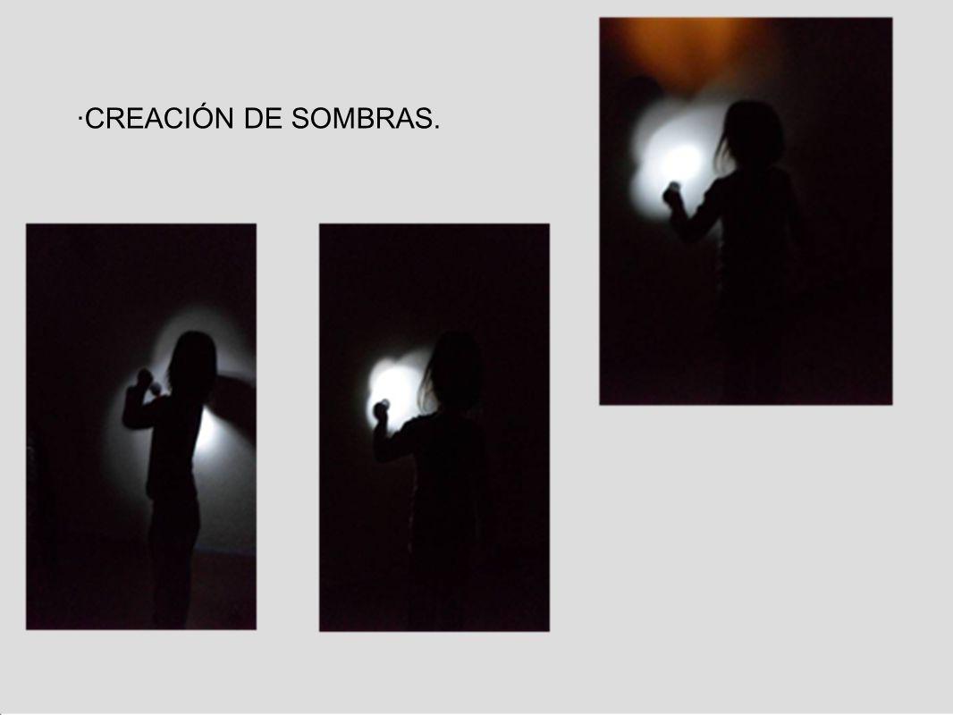 ·CREACIÓN DE SOMBRAS.