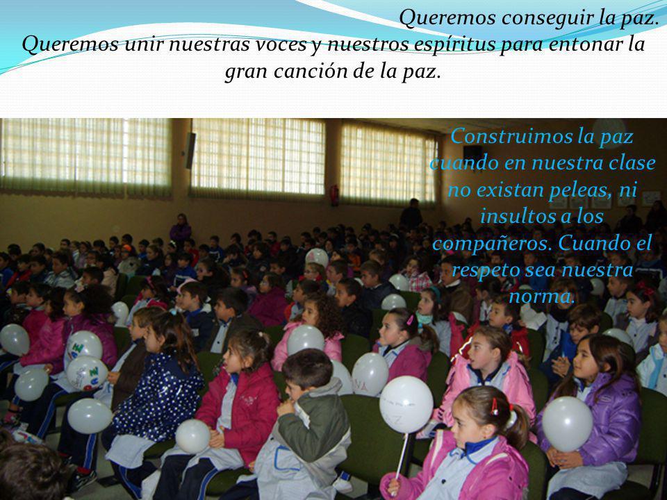 Colegio Santa Teresa - Getafe QUE LLEGUE PRONTO EL DÍA EN QUE TODOS, AL LEVANTAR LA VISTA, VEAMOS UN MUNDO NUEVO EN EL QUE PONGA: QUE LLEGUE PRONTO EL DÍA EN QUE TODOS, AL LEVANTAR LA VISTA, VEAMOS UN MUNDO NUEVO EN EL QUE PONGA: SOLIDARIDAD LIBERTAD