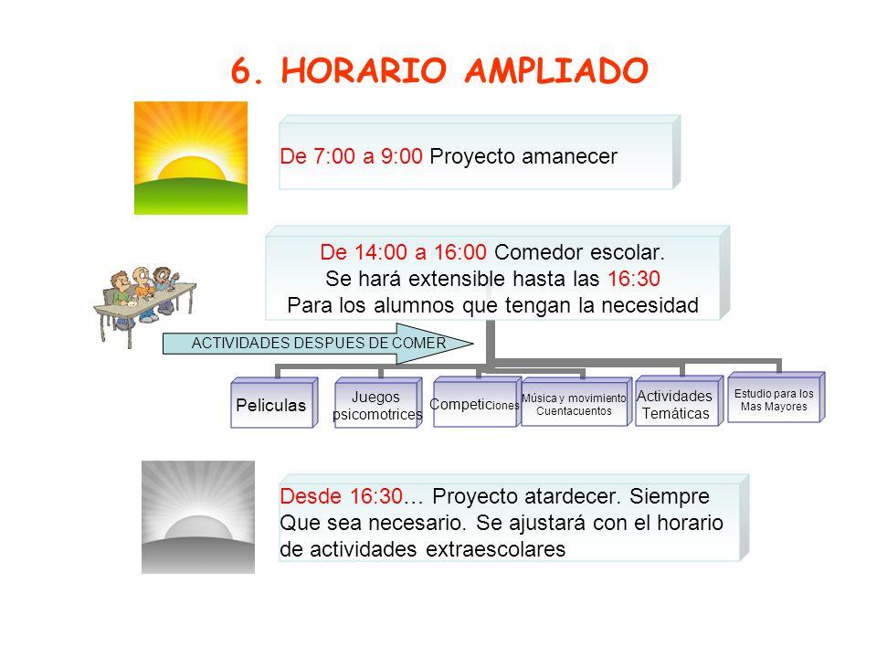 Free powerpoint template: www.brainybetty.com 9 7. ACTIVIDADES EXTRAESCOLARES