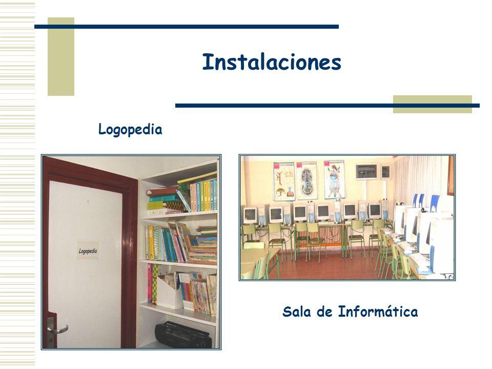 Instalaciones Sala de Informática Logopedia