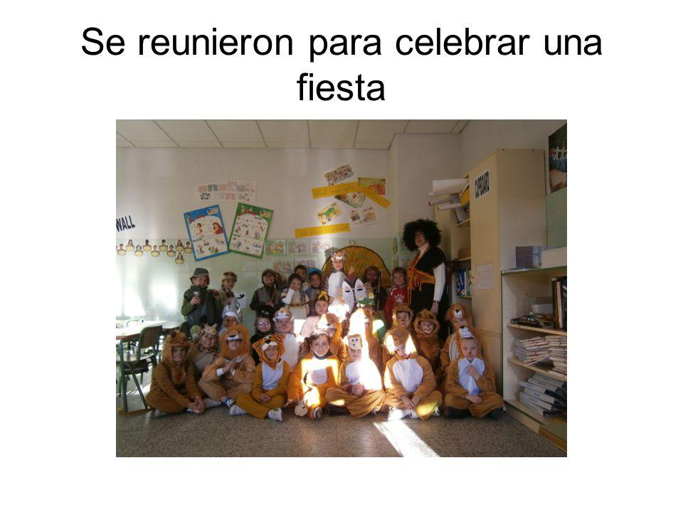 Eduardo, Alex, Sergio, José, Lucía, Noelia, Mario, Diego, Raquel…