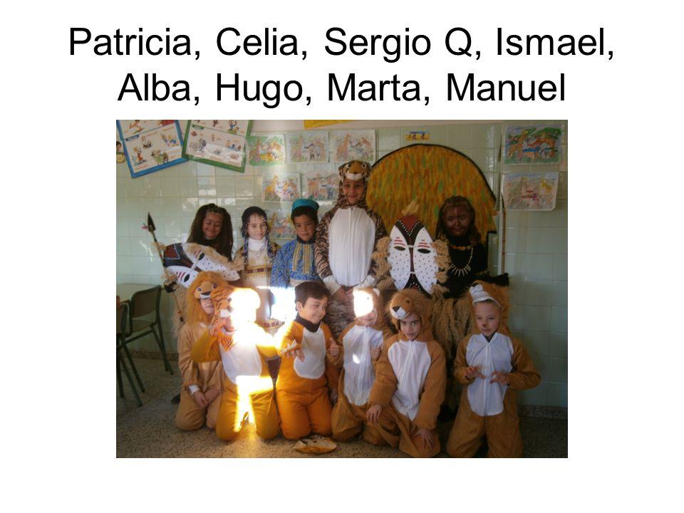 Jorge, Mohamed, Andrea, Álvaro, Laura, Miguel,