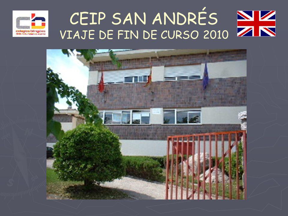 CEIP SAN ANDRÉS VIAJE DE FIN DE CURSO 2010