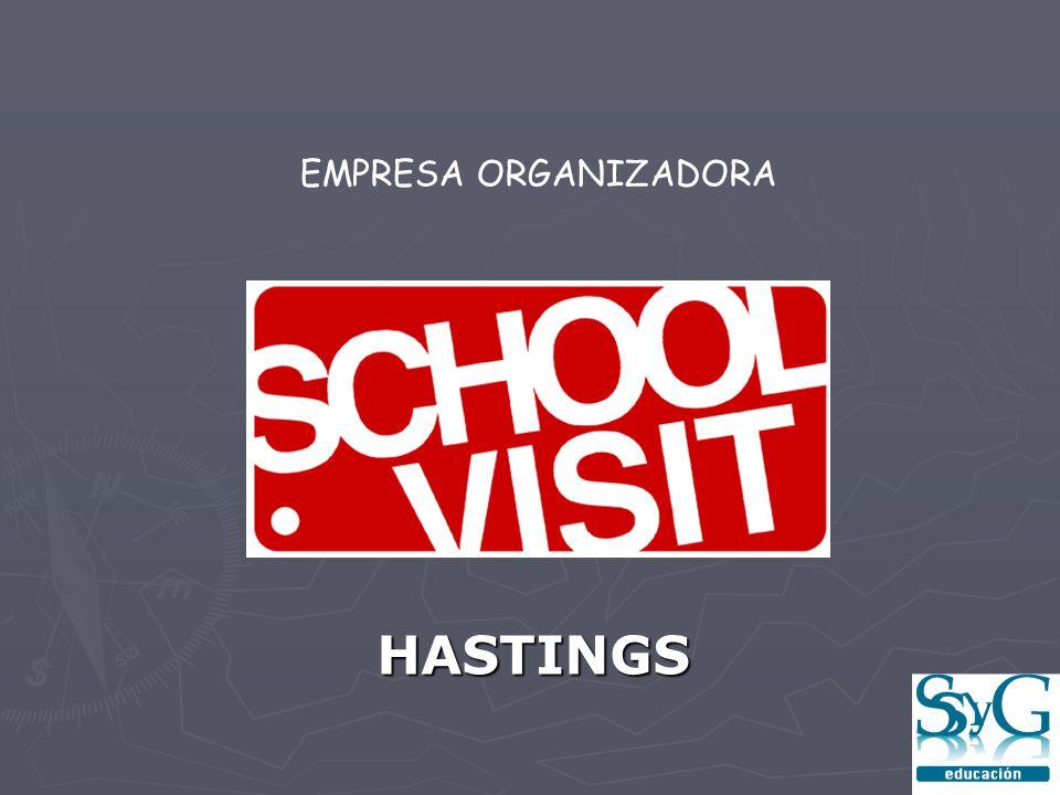HASTINGS EMPRESA ORGANIZADORA