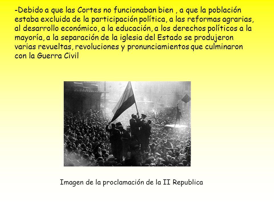 -En Madrid, la sublevación fue un fracaso.
