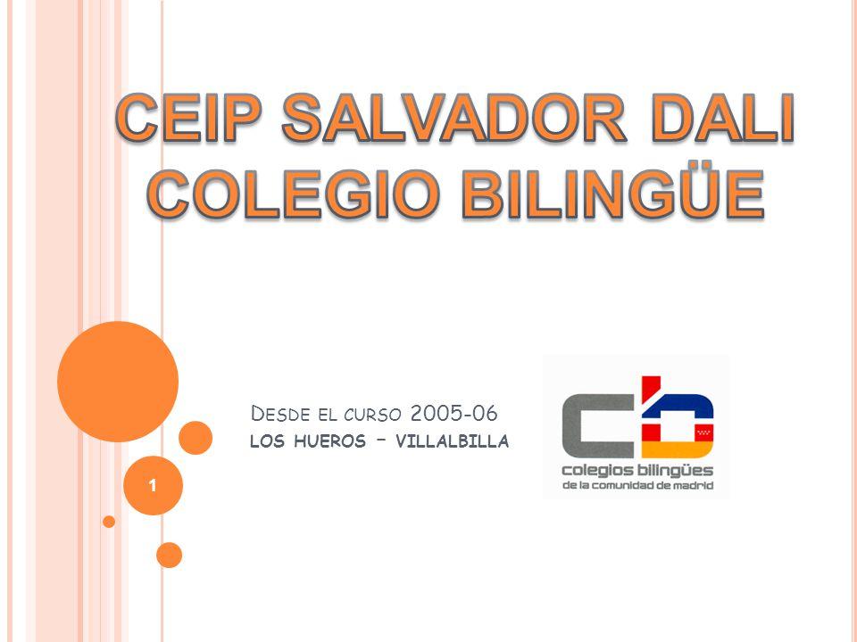 D ESDE EL CURSO 2005-06 LOS HUEROS – VILLALBILLA 1