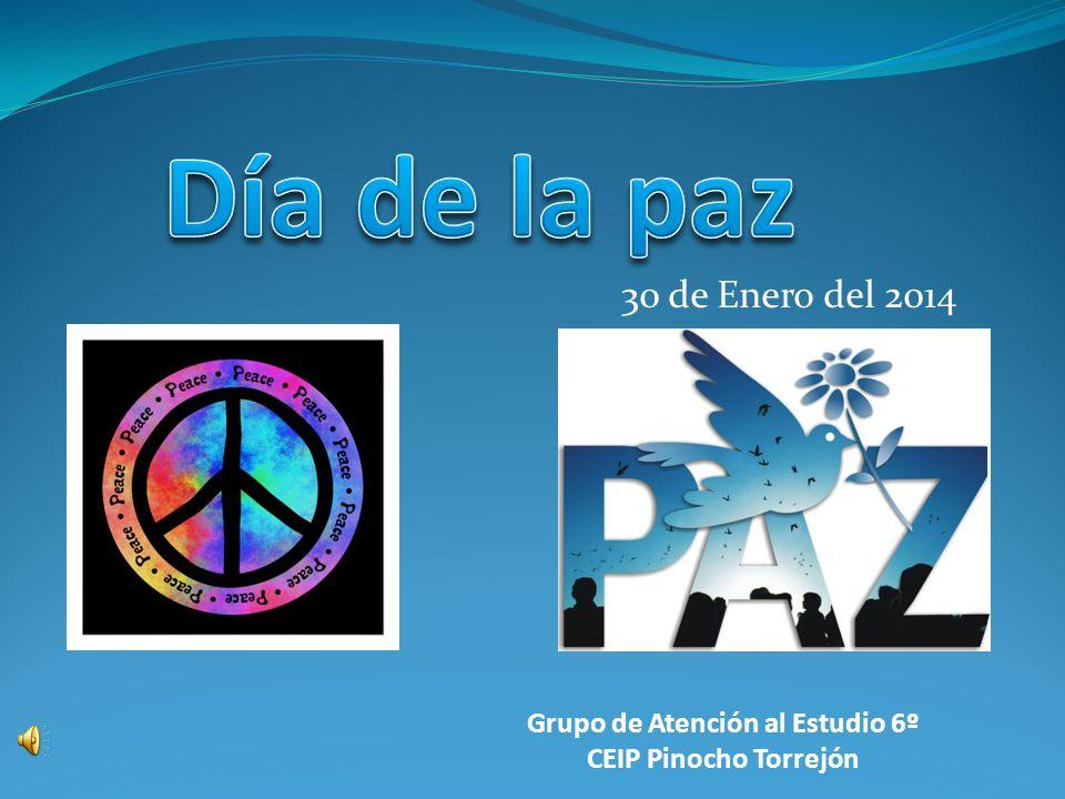 30 de Enero del 2014 Grupo de Atención al Estudio 6º CEIP Pinocho Torrejón