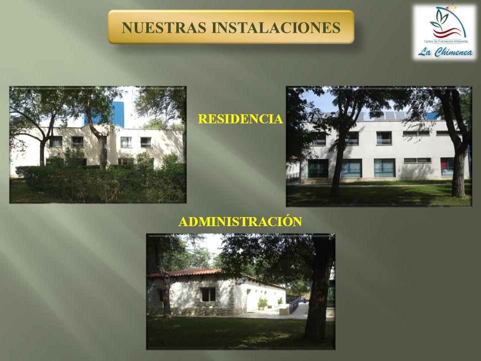 JARDÍN DE AROMÁTICAS JARDÍN DE ECOSISTEMAS JARDÍN DEL TIEMPO LOS JARDINES