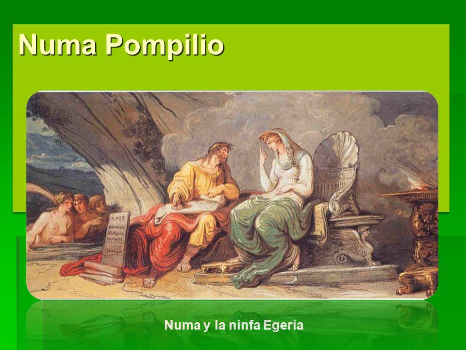 Numa Pompilio Numa y la ninfa Egeria