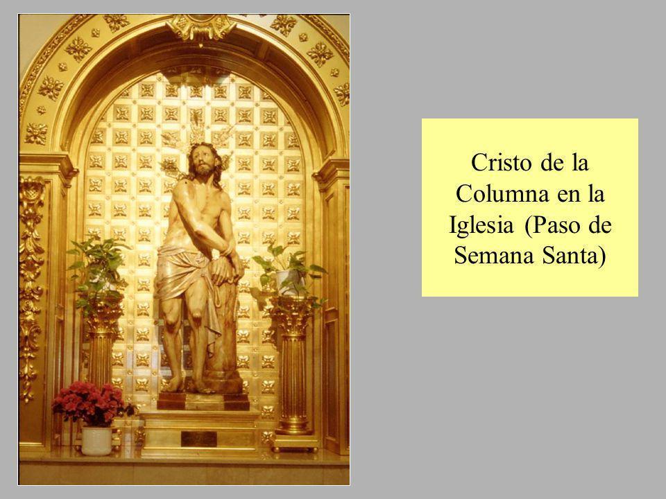 Cristo de la Columna en la Iglesia (Paso de Semana Santa)