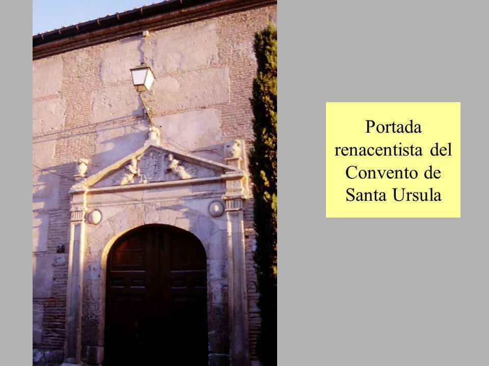 Portada renacentista del Convento de Santa Ursula