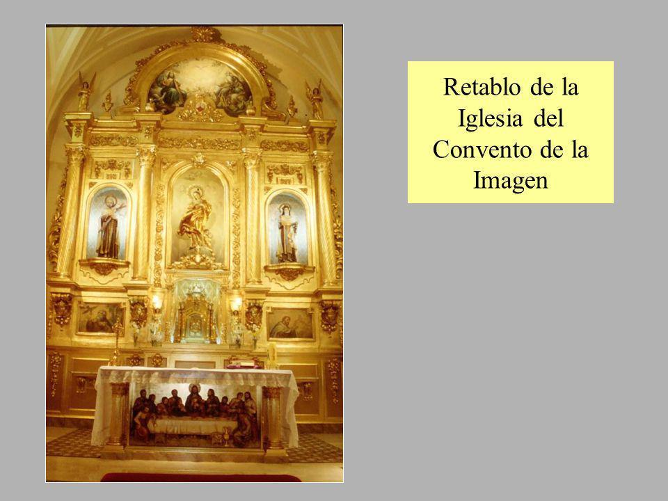 Crucificado en la Iglesia del Convento de Santa Ursula