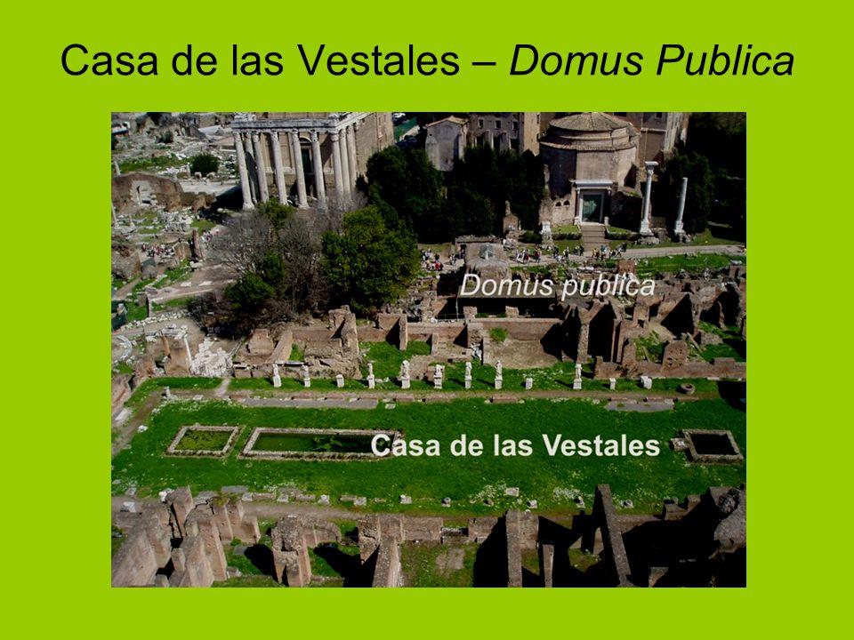 Casa de las Vestales – Domus Publica
