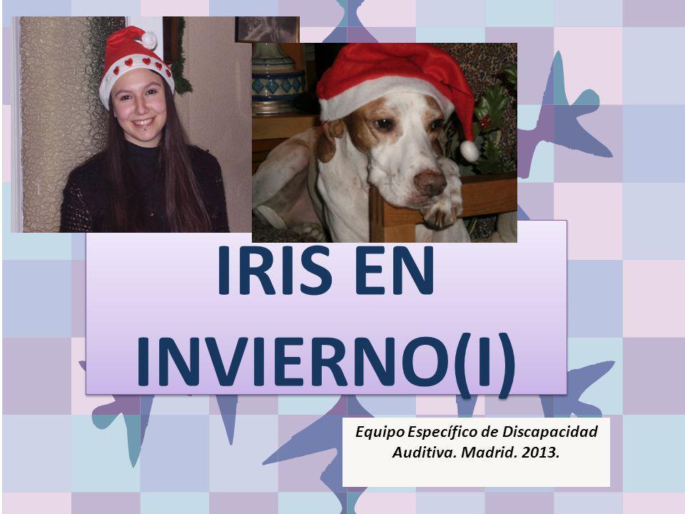 IRIS EN INVIERNO(I) Equipo Específico de Discapacidad Auditiva. Madrid. 2013.