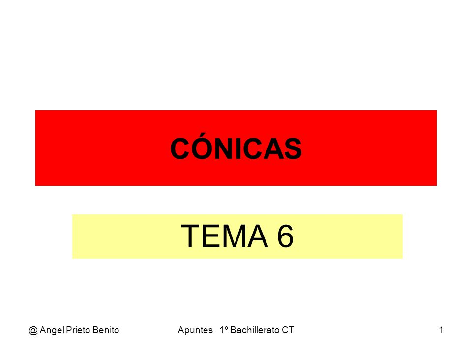 @ Angel Prieto BenitoApuntes 1º Bachillerato CT2 POTENCIA DE UN PUNTO TEMA 6.4 * 1º BCT