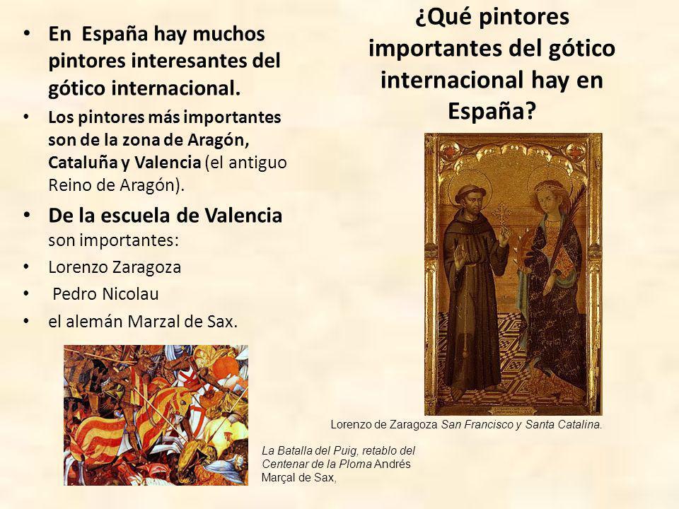 Lorenzo Zaragoza es el autor del Retablo de Xérica (Castellón) Pedro Nicolau es el autor del Retablo de Sarrión (Teruel).