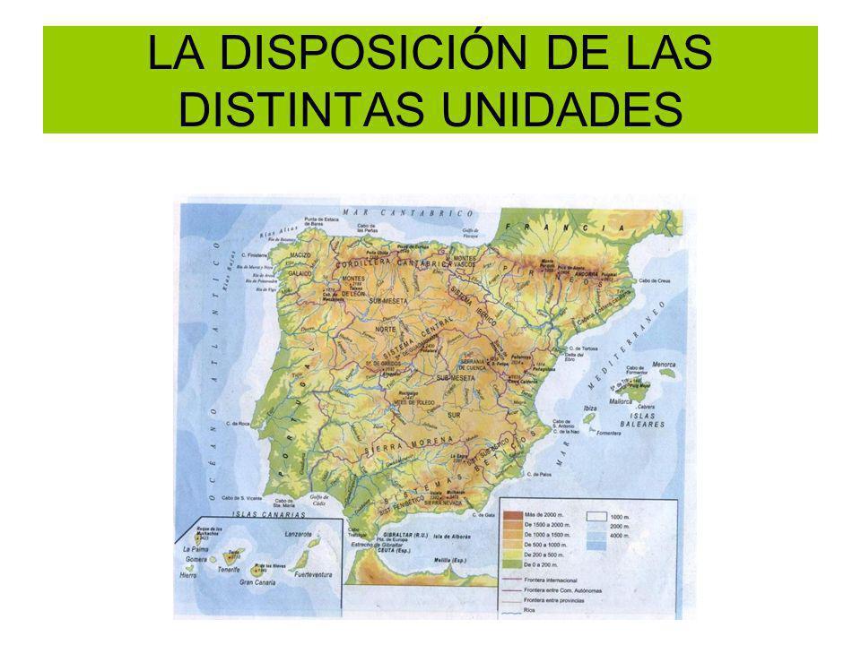 DEPRESIONES INTERIORES En el este y centro de las cuencas.PARAMO Y CAMPIÑA