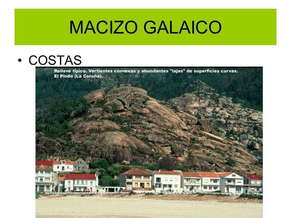 MACIZO GALAICO COSTAS