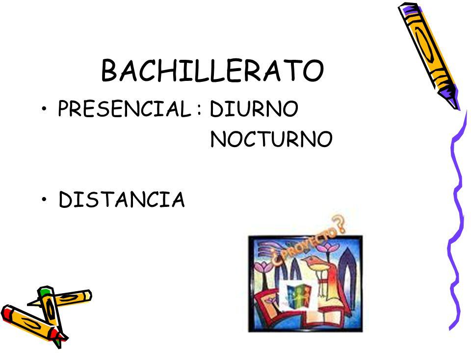 El Bachillerato se organiza en: - Materias comunes:.