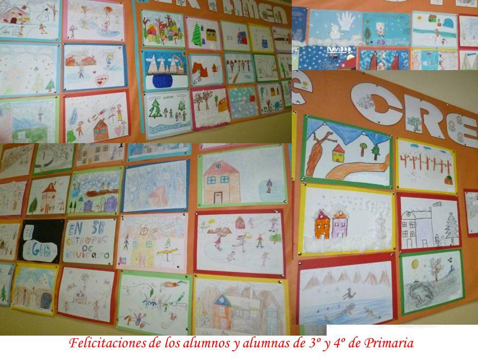 Creaciones Navideñas de los alumnos y alumnas de 1º y 2º de Primaria