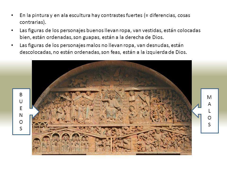 En los monasterios (1) son muy interesantes loa relieves de los capitales de los claustros.