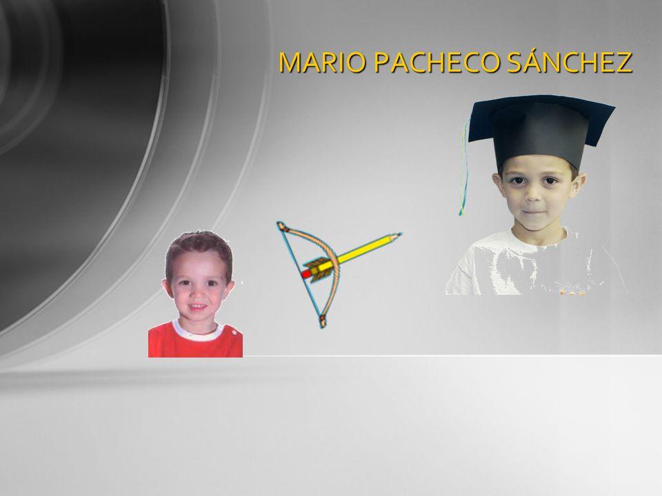 MARIO PACHECO SÁNCHEZ