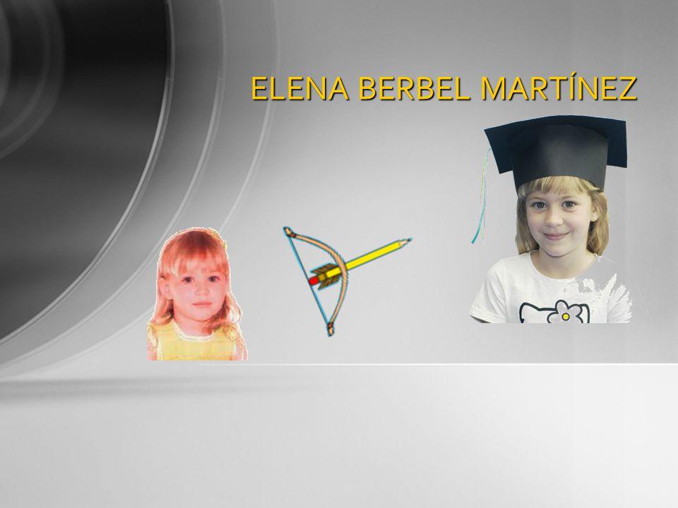 ELENA BERBEL MARTÍNEZ