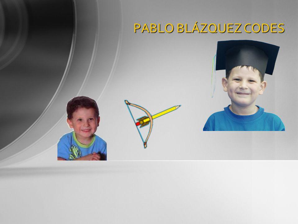 PABLO BLÁZQUEZ CODES