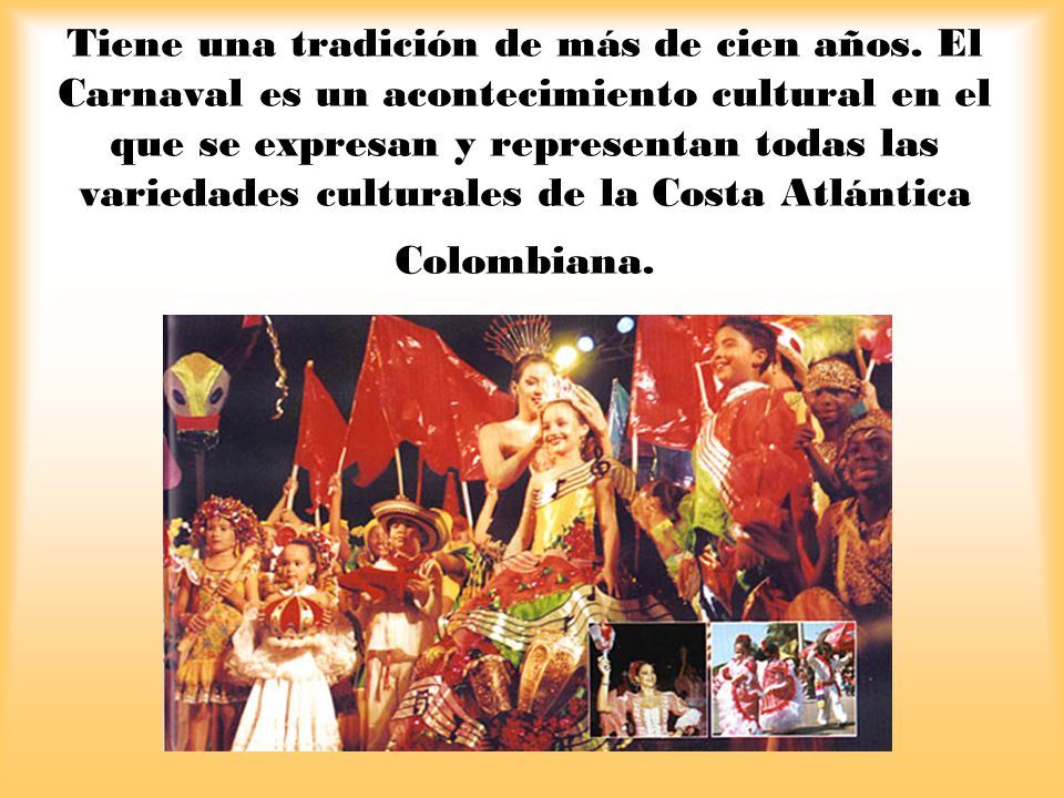 Tiene una tradición de más de cien años.