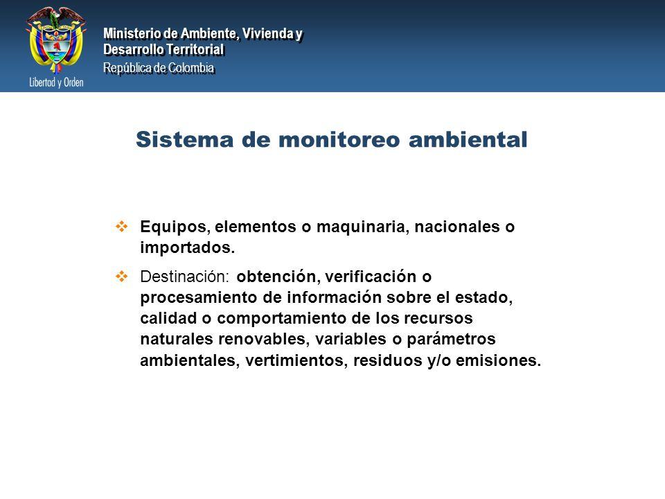 Ministerio de Ambiente, Vivienda y Desarrollo Territorial República de Colombia Ministerio de Ambiente, Vivienda y Desarrollo Territorial República de Colombia Requisitos para la procedencia de la deducción +Las AAC podrán certificar previamente a la realización de la inversión, que dichas inversiones son para el control y mejoramiento del medio ambiente.