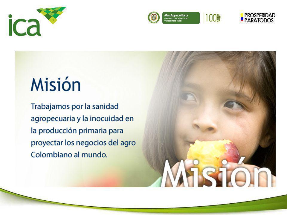 PROSPERIDAD PARA TODOS MinAgricultura Ministerio de Agricultura y Desarrollo Rural