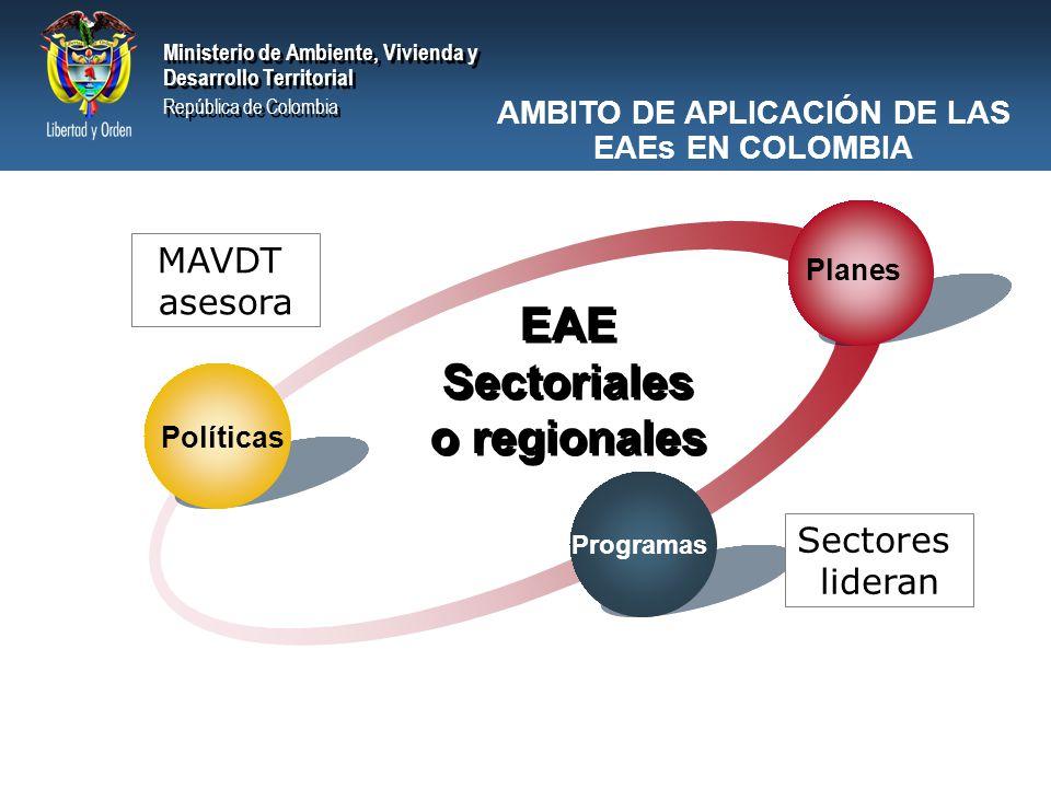 Ministerio de Ambiente, Vivienda y Desarrollo Territorial República de Colombia Ministerio de Ambiente, Vivienda y Desarrollo Territorial República de Colombia Proceso de Toma de Decisiones EAE de Energéticos – Alcance - Línea Base Proceso de Toma de Decisiones (PTD)