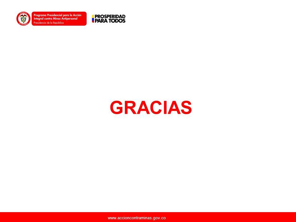 www.accioncontraminas.gov.co GRACIAS