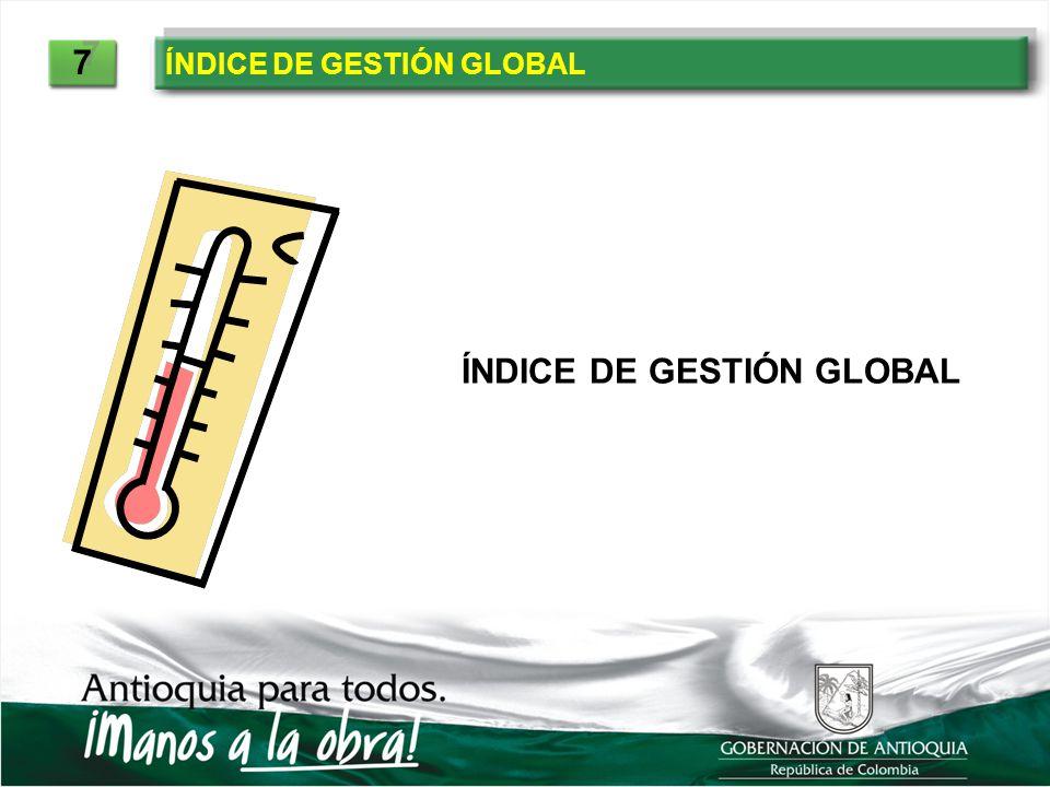 ÍNDICE DE GESTIÓN GLOBAL 7 7
