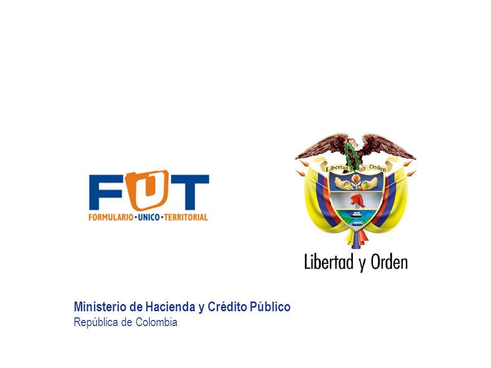 Ministerio de Hacienda y Crédito Público República de Colombia HACIA UN MINISTERIO ÁGIL, ACERTADO Y CONFIABLE LEY 962 DE 2005 Artículo 31.