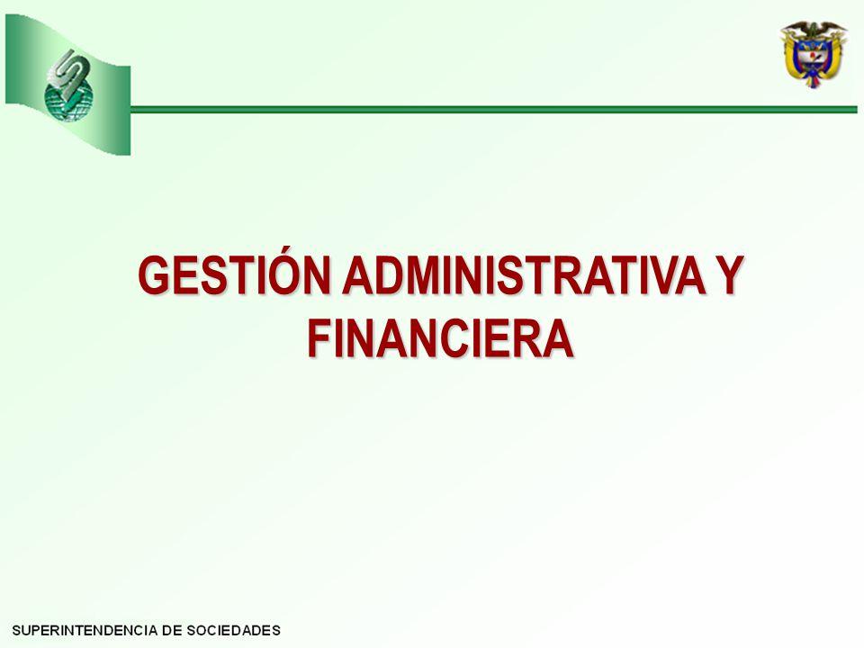 GESTIÓN ADMINISTRATIVA Y FINANCIERA